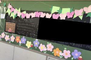 黒板シート使用例