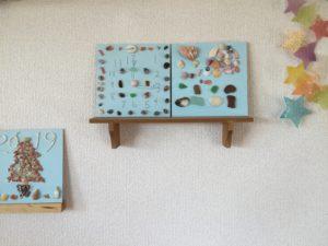 貝殻アートボード