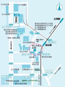 高松駅周辺地図