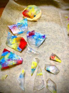 宝石石鹸カット